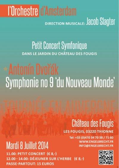 Konzert im chateau des Fougis - Het Orkest Amsterdam