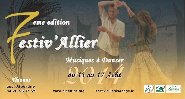 Festiv'Allier im chateau des Fougis