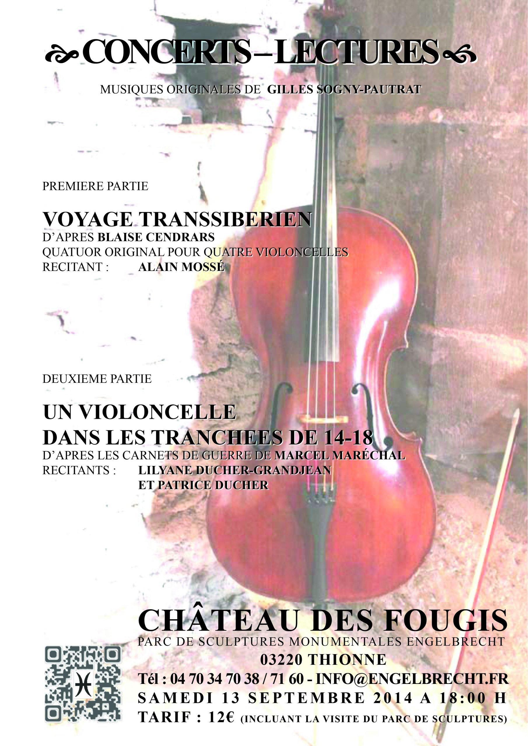 Konzert im chateau des Fougis